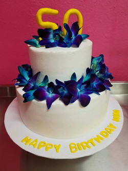 50th birthday orchid cake.jpg