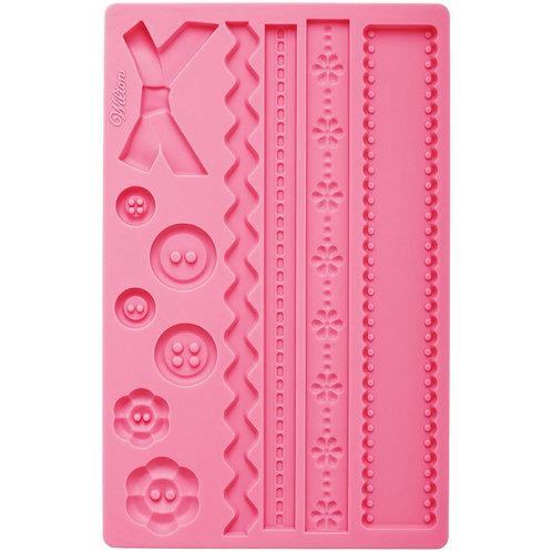 Pink Bow Fondant & Gum Paste Mold