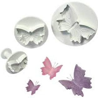 Veined Butterfly Plunger Cutter Set