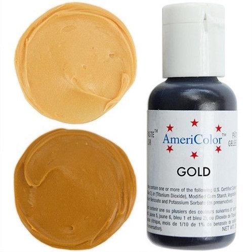 Americolor Gel Food Color-Gold