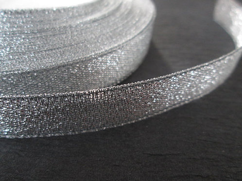 Silver Sparkly Ribbon