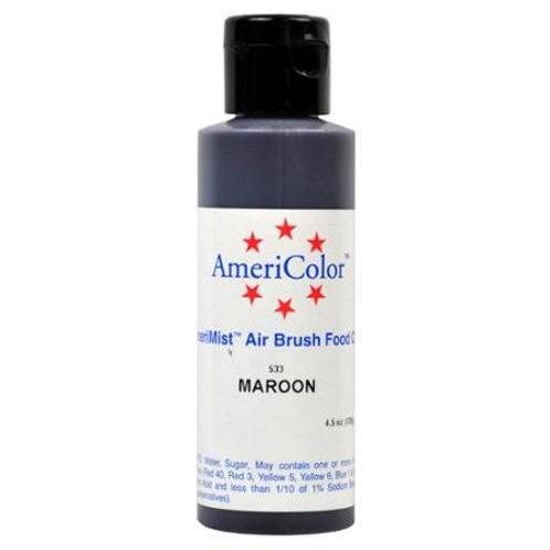 Amerimist Airbrush Color-Maroon