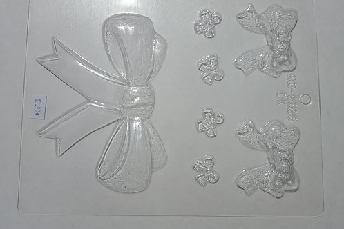 Varied Bows Candy Mold