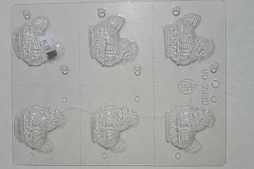 Country Rooster Candy Mold