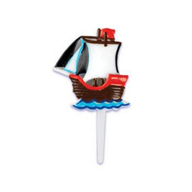 Pirate Ship Cupcake Picks