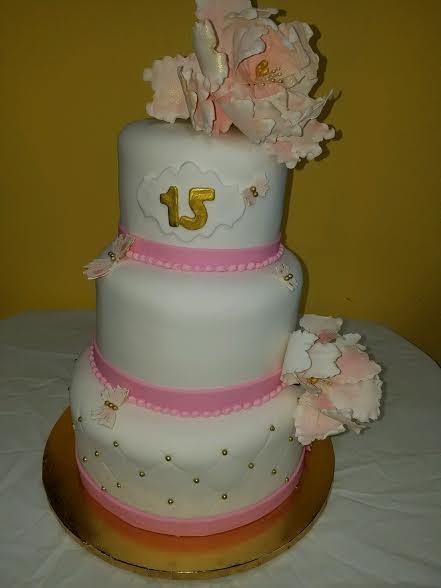 quincenarra cake