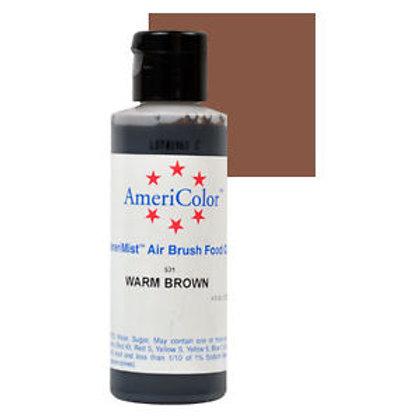 Amerimist Airbrush Color-Warm Brown