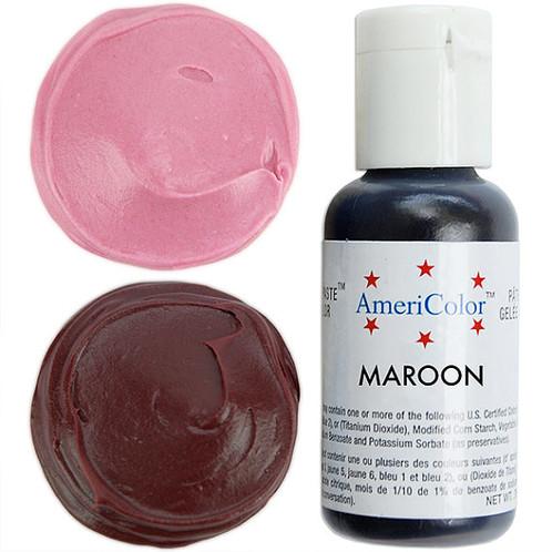 Americolor Gel Food Color-Maroon