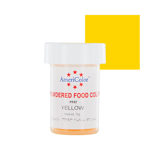 Americolor Powdered Food Color-Yellow