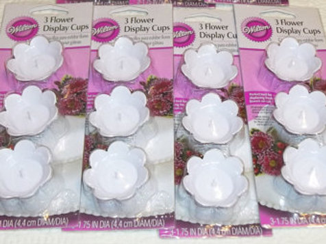 Frosting Flower Display Cups