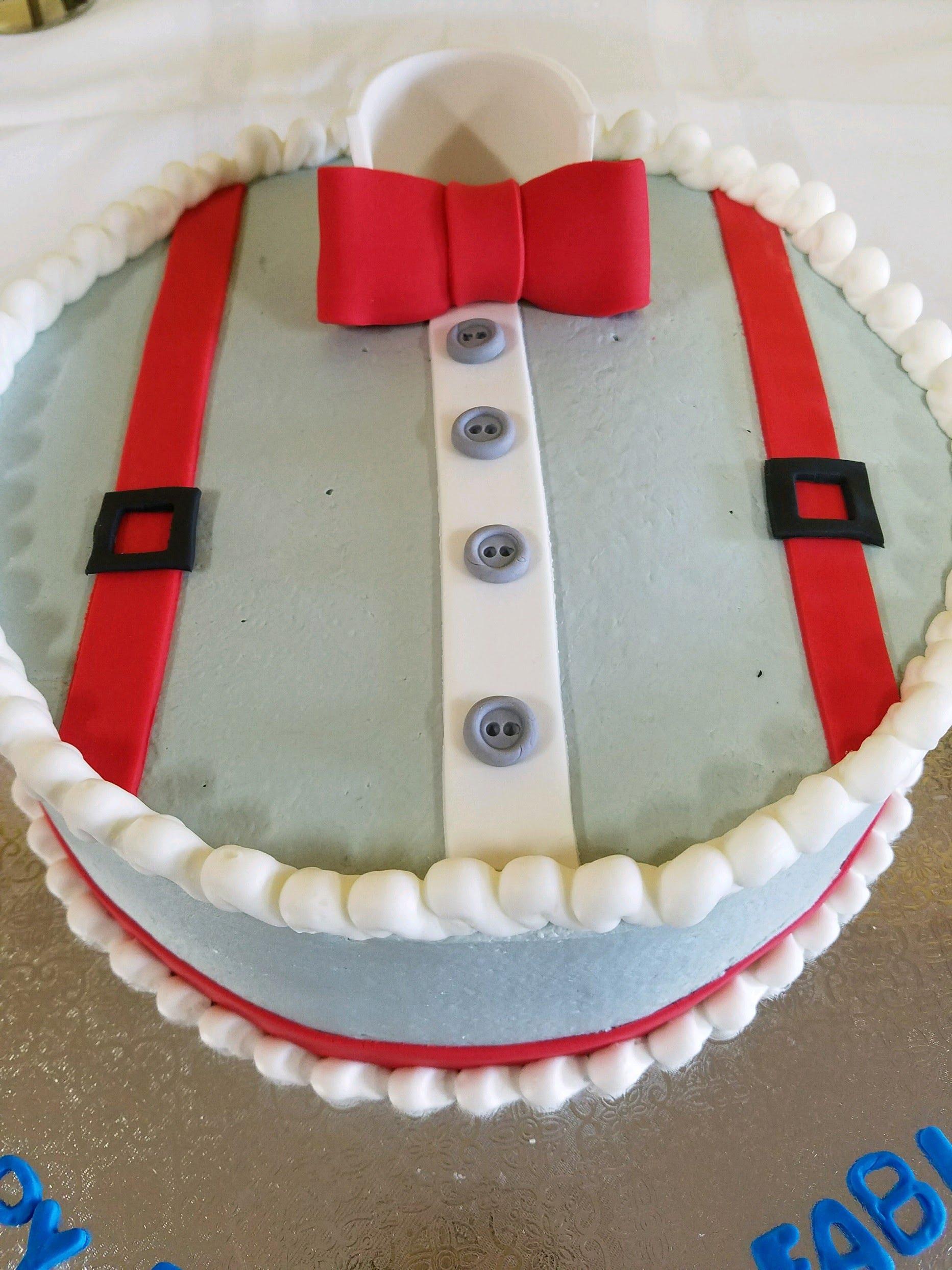 dulce tux cake