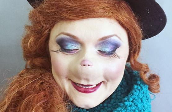 Grinchmas for Universal Studios using Magee prosthetics