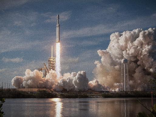 The Glimpse of Falcon Heavy
