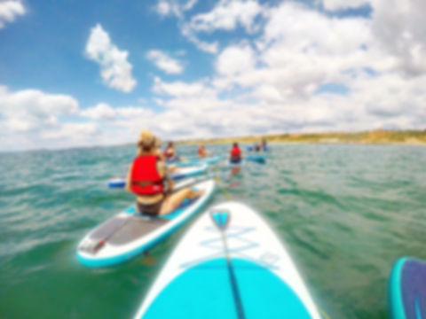 Workout Away Stand-up paddleboarding
