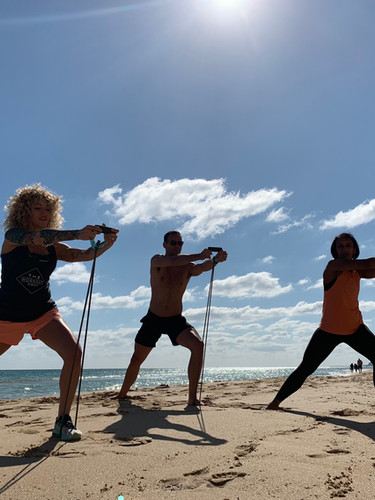 Beach Circuit Training - Workout Away