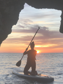 Sunrise Stand-Up Paddleboarding - Workout Away