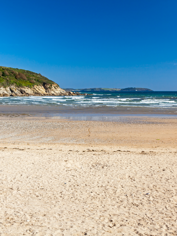 Falmouth Beach Cornwall