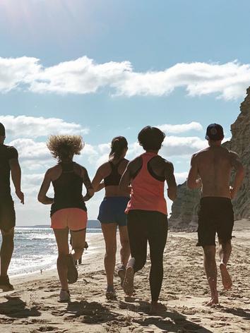 Beach Run Lagos - Workout Away