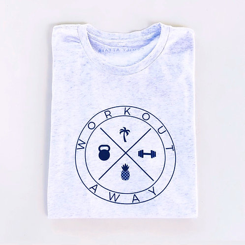Workout Away | Family Affair Mens Grey T-Shirt