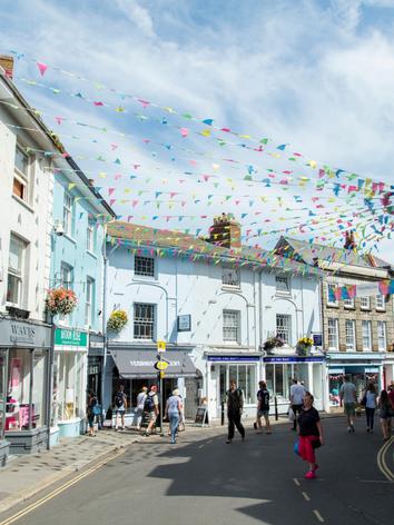 Falmouth Town Cornwall