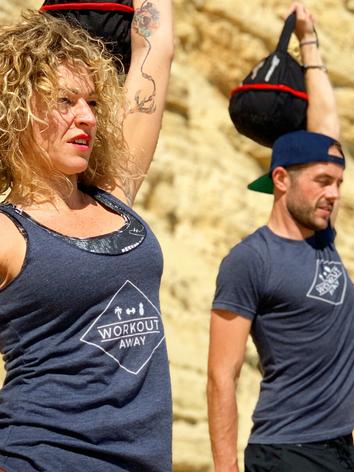 Beach Circuit Training - Workout Away