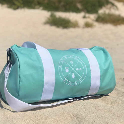Workout Away | Duffle Bag Mint Green