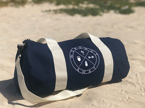 Workout Away | Duffle Bag French Navy
