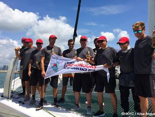 Hong Kong to Hainan Race - MOD Beau Geste Claims Line Honours and Sets Multihull Record