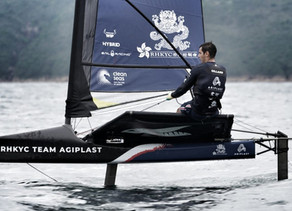 Aymeric Gillard hopes experience, naval architecture skills and calm outlook can push podium bid