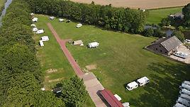 Luchtfoto Camping Lauwersschans