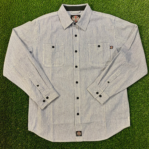 Independent L/S Workshirt - XL
