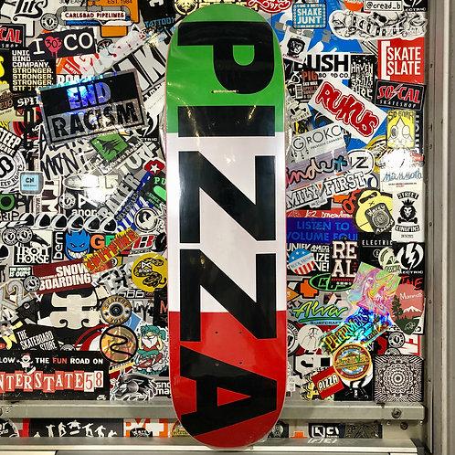 "Pizza - Flag Logo Deck - 8.25"""