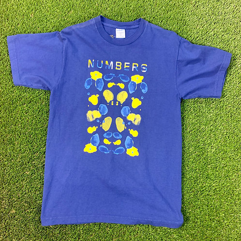 Numbers Watercolor T
