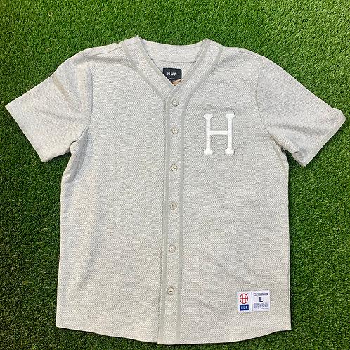 Huf Pursuit Baseball Shirt - L