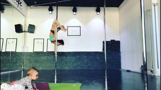 Vie de maman et compétition de pole dance… mon équilibre!