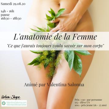 l'anatomie de la femme