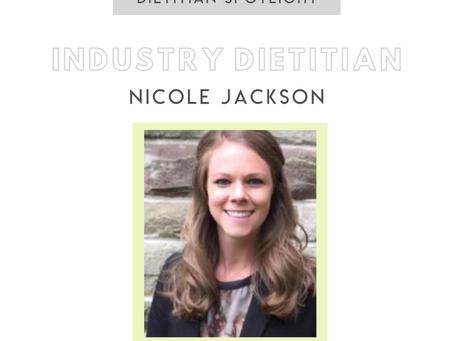 Dietitian Career Spotlight: Industry Dietitian Nicole Jackson