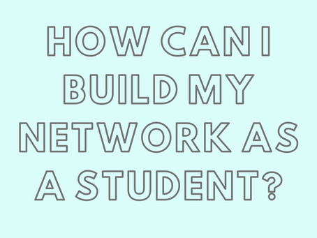 How Can I Build my Network as a Dietetic Student?