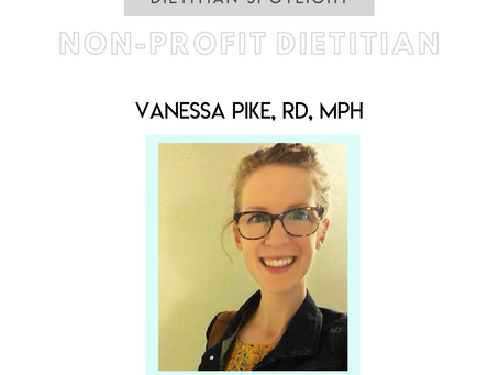 Dietitian Career Spotlight: Vanessa Pike, RD, MPH