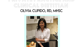 Dietitian Career Spotlight: Olivia Cupido, RD, MHSc