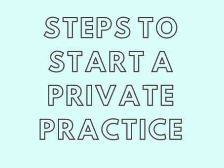 Steps to Start a Private Practice for Dietitian Nutritionists