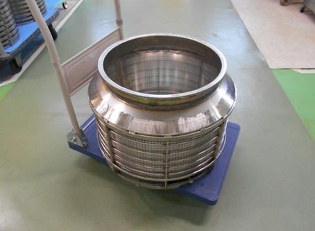 自動機用の遠心乾燥機バスケット