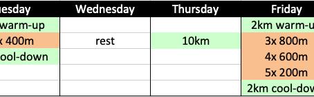 Planning your Training Week: Polarized & Pyramidal Training
