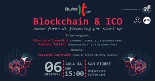 Evento Blockchain & ICO Build It Up