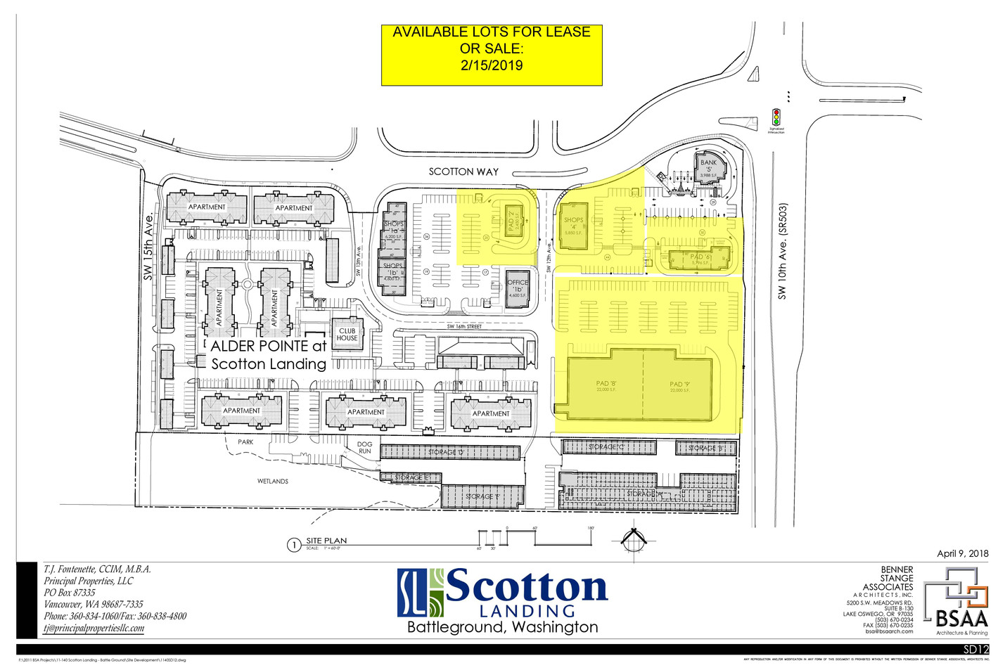 Master site plan Availabe Lots 2-15-19.j