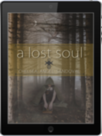 Commissioned book cover for A Lost Soul by Chelsea Angel Sandoval (pen name Angel Blackhart)