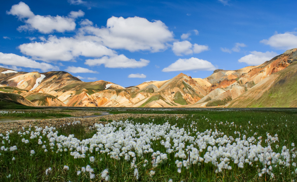 Views of Landmannalaugar in Summer- Weather in Landmannalaugar