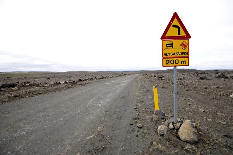 En Islandia es obligatorio conducir un 4x4 por carreteras de montaña
