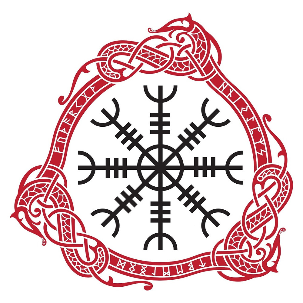 Aegishjalmur stave symbol