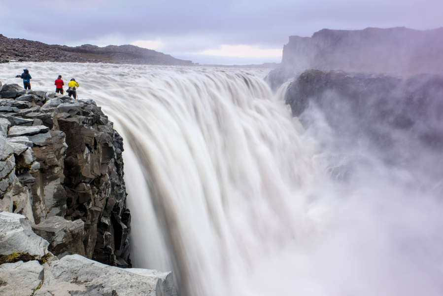 Dettifoss, the most powerful waterfall in Iceland